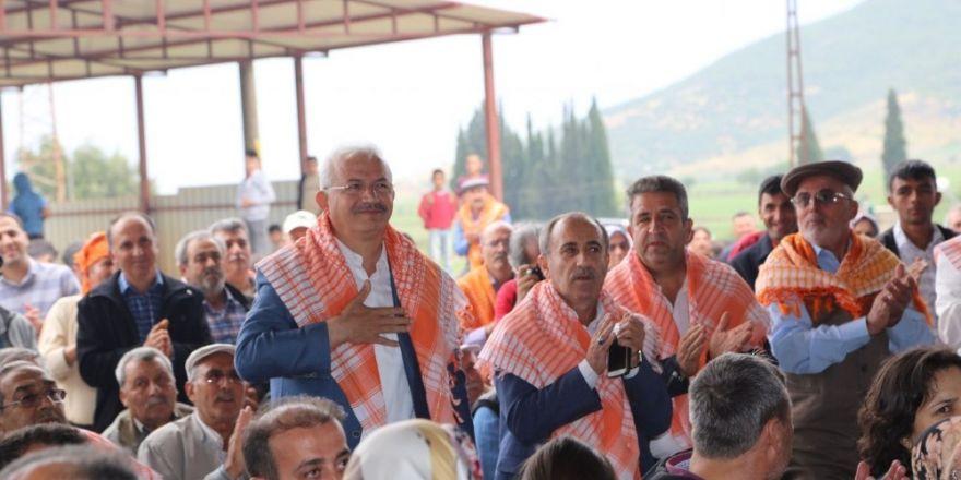 Yörükler Ahmetli'de diz vurdu