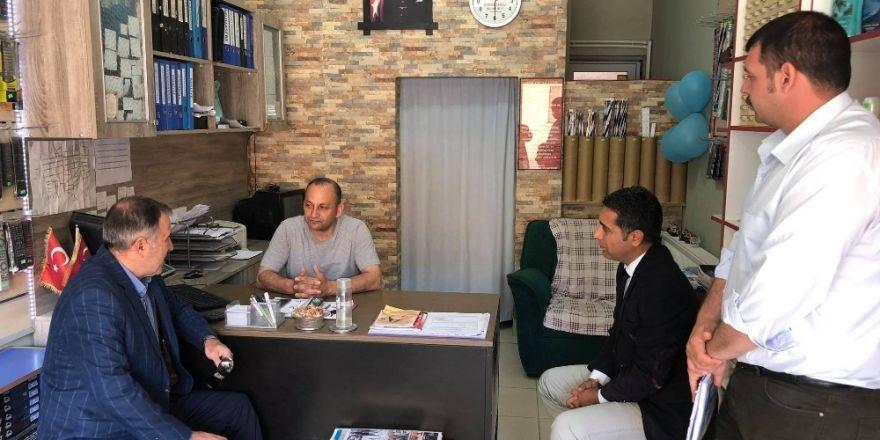 Turgutlu'da hizmetler anlatıldı