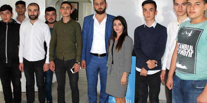MHP Ankara Milletvekili aday adayı İlkay Uyar Kaba'dan teşkilatlara ziyaret