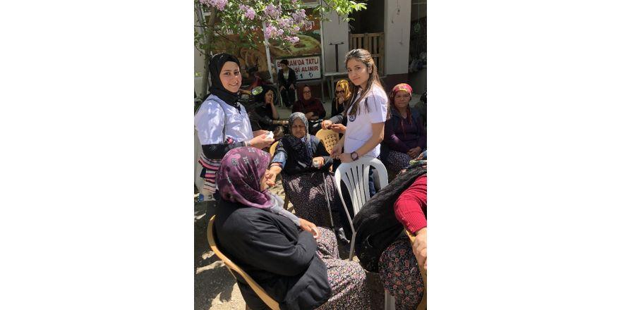 Burdur'da yaşlılar sağlık taramasından geçti,
