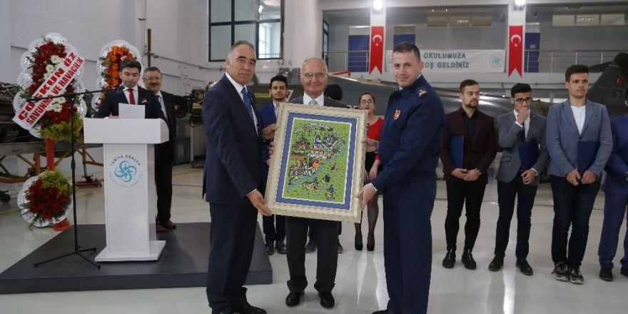 """Eskişehir Sabiha Gökçen MTAL """"Tanınan Okul Onay Sertifikası"""" aldı"""