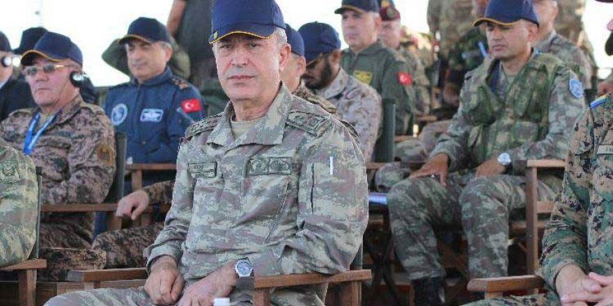 """Genelkurmay Başkanı Akar: """"TSK, en son terörist etkisiz hale getirilinceye kadar her türlü terörle mücadele etmeye devam edecektir"""""""