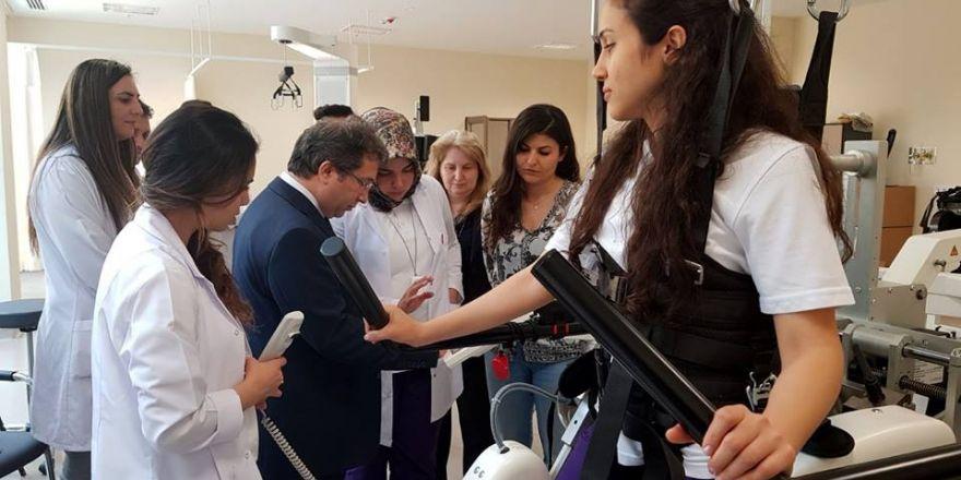 Kayseri Şehir Hastanesinde İlk Mesai Fizik Tedavi ve Rehabilitasyon Hastanesi ile Başladı