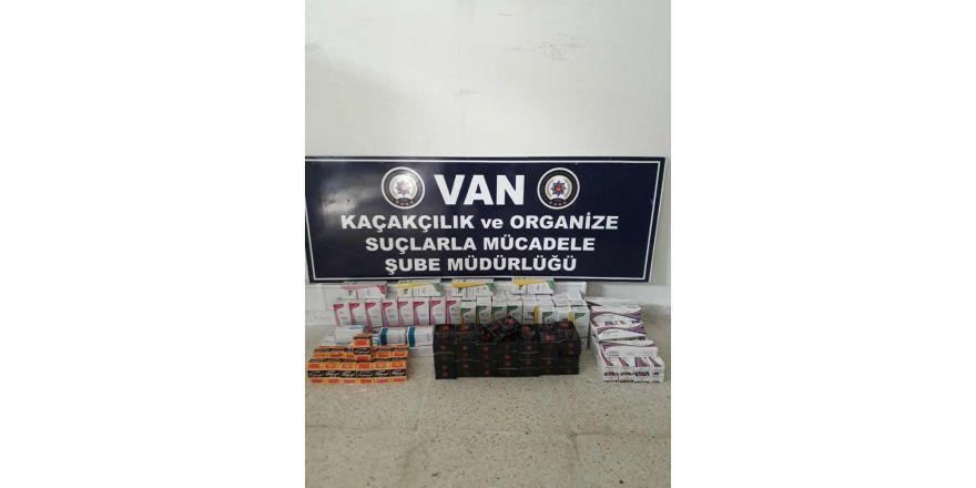 Van'da kaçak ilaç operasyonu