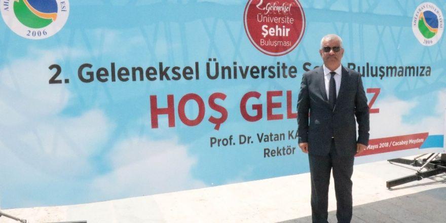 Ahi Evran Üniversitesinden jeotermal, tarım ve öğrenci halk buluşması atağı