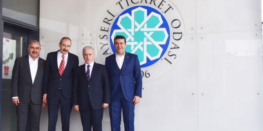 Vali Kamçı, Başkan Gülsoy'u ziyaret etti