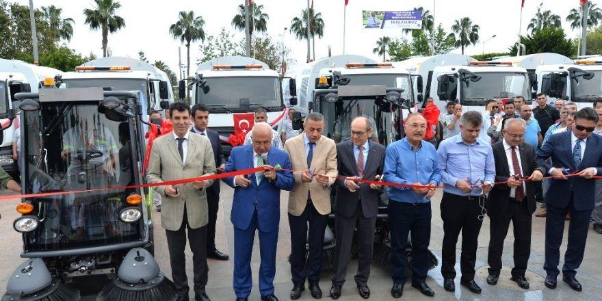 Büyükşehir, araç filosunu 38 yeni araçla güçlendirdi