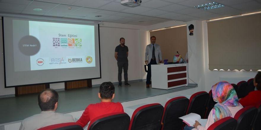Milli Eğitim Müdürlüğü ve BEBKA Gelecek STEM İle Şekillenecek Projesi Başladı.