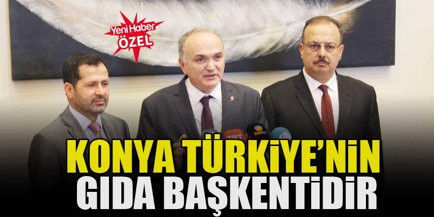 Konya, Türkiye'nin Gıda başkentidir