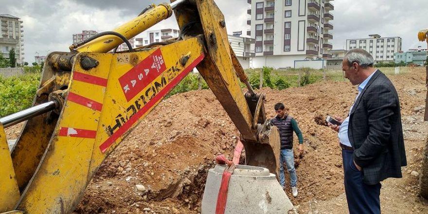 Yavuz Selim Mahallesinde altyapı çalışması başladı