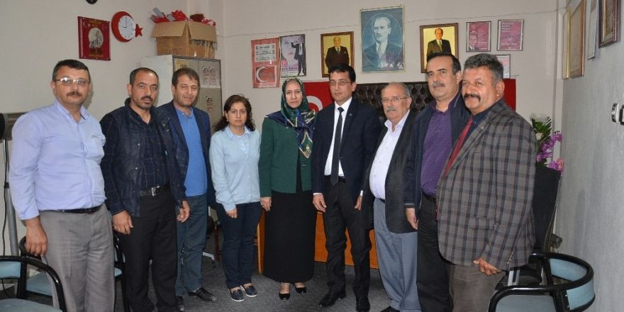 Milletvekili aday adayı Palancıoğlu Darende'deydi