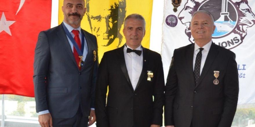 Lions Kulübü Geçmiş Dönem Başkanı Alkışel'e onur töreni