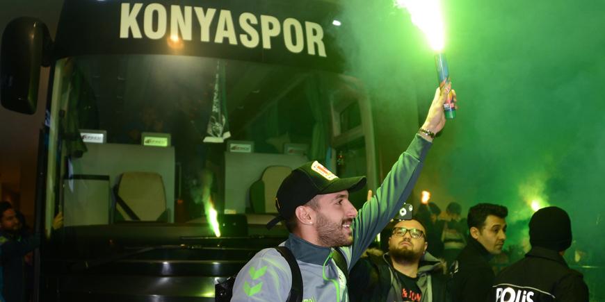 Konyaspor, meşalelerle karşılanacak
