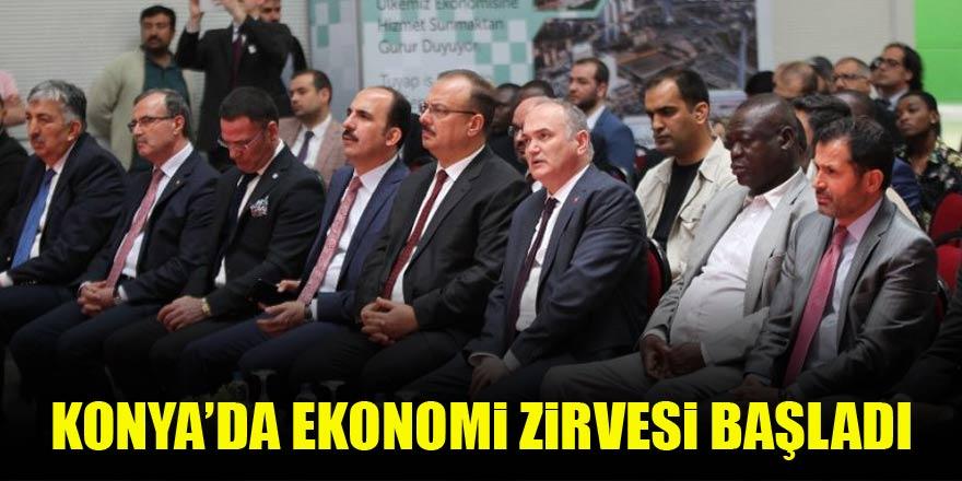 Konya'da ekonomi zirvesi başladı
