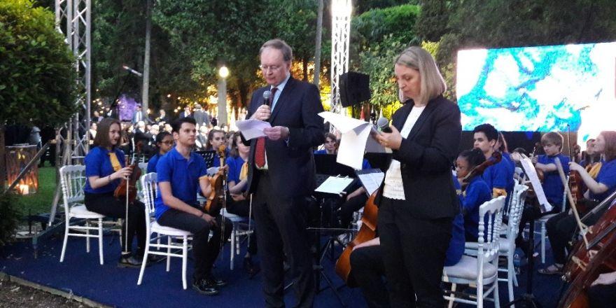 AB Türkiye Delegasyonundan 'Avrupa Günü' resepsiyonu