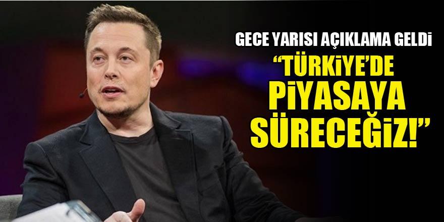Elon Musk'tan kritik Türkiye açıklaması!