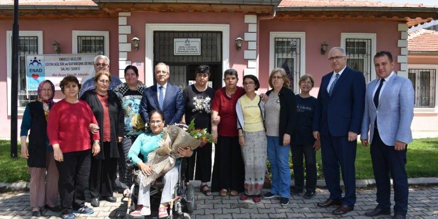 Başkan Kayda'dan engelli ailelerine 'Her zaman yanınızdayız' mesajı