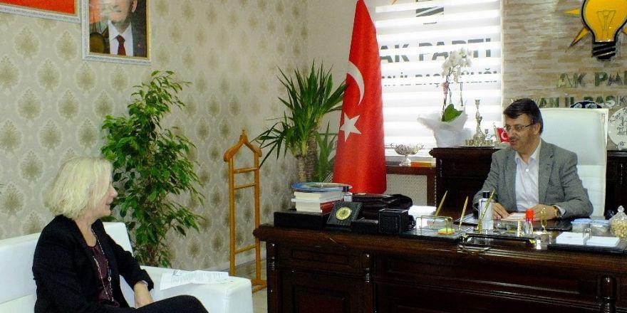 ABD Adana Konsolosundan Başkan Türkmenoğlu'na ziyaret