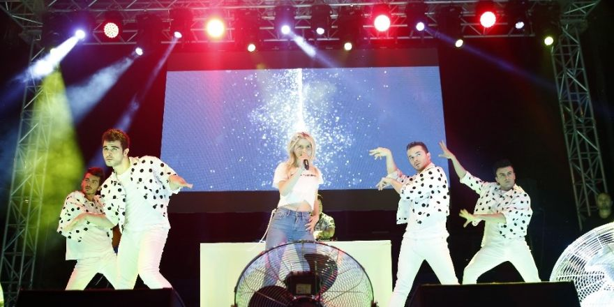 1. Şarampol Şenlikleri Aleyna Tilki konseriyle başladı