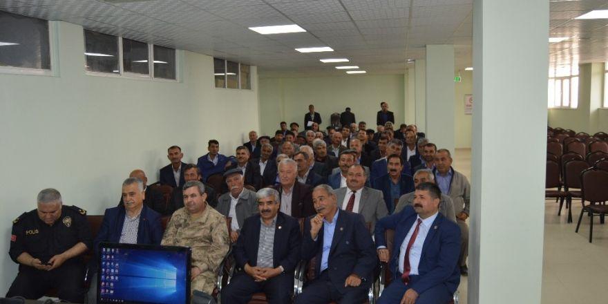 Besni Köylere Hizmet Götürme Birliği Meclis Toplantısı yapıldı