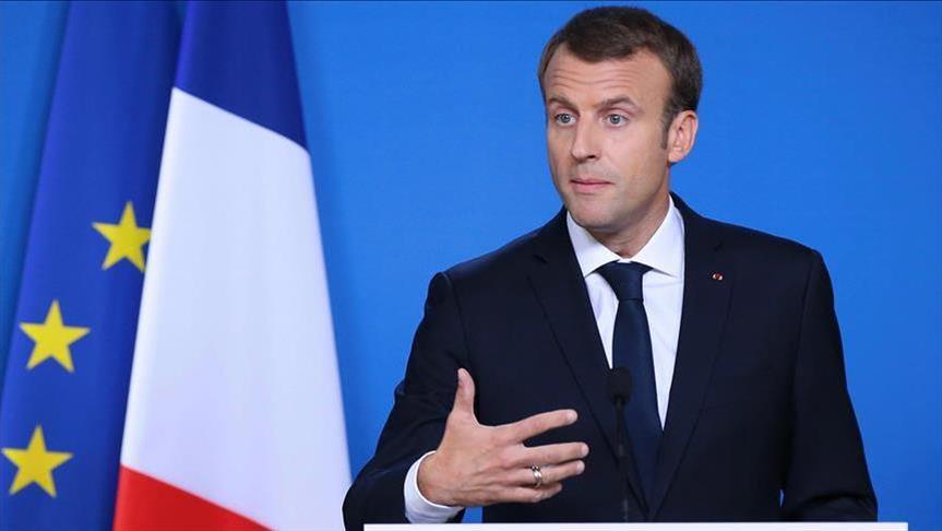 Macron phones leaders of Palestine, Jordan over Gaza