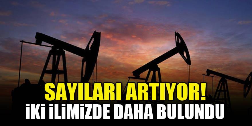 Sayıları artıyor! İki ilimizde daha petrol bulundu