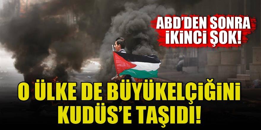 O ülke de büyükelçiliğini Kudüs'e taşıdı!