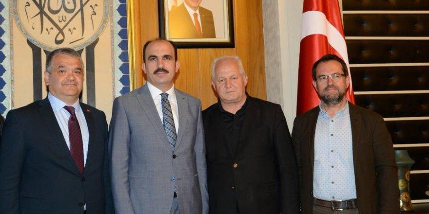 Karahan'dan, Başkan Altay'a Ziyaret