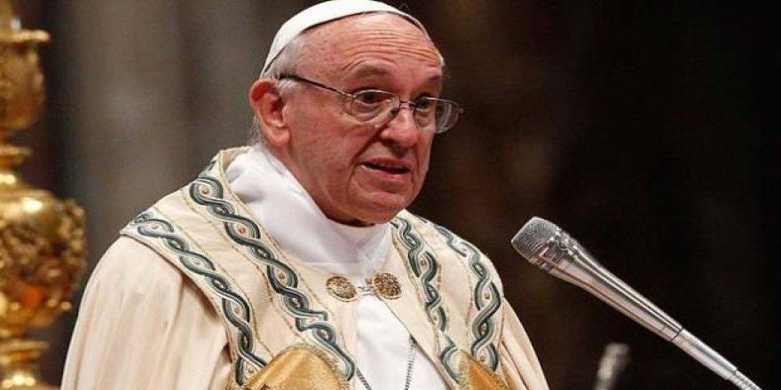 Papa'dan İsrail katliamıyla ilgili açıklama