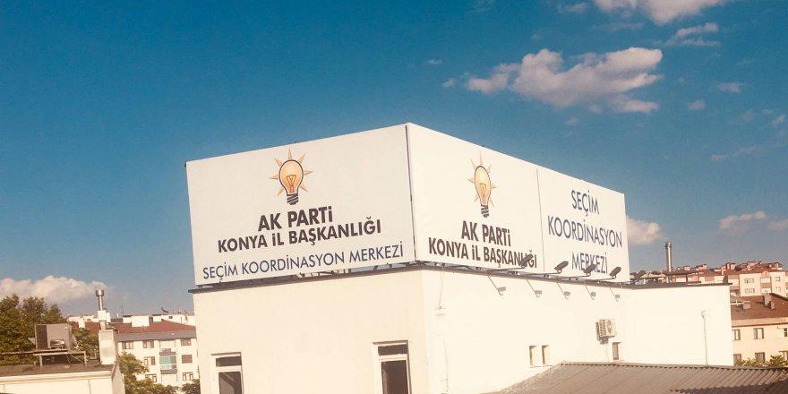 Ak Parti Konya'da Seçim Koordinasyon Merkezi açıldı