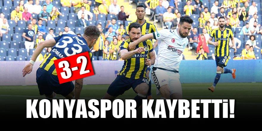 Fenerbahçe:3 - Konyaspor:2 | MAÇ SONUCU