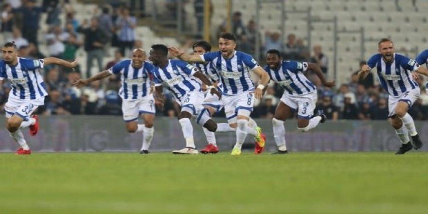 Süper Lig'e yükselen son takım BB Erzurumspor!