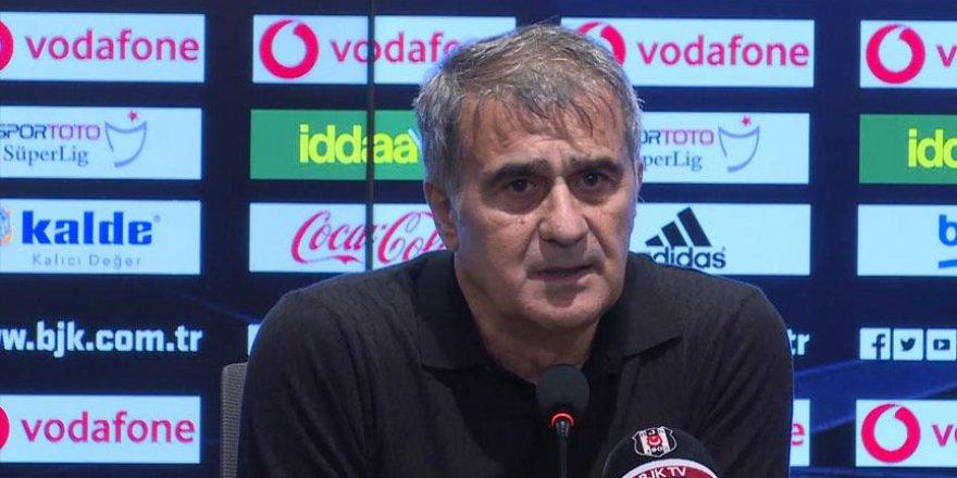 Beşiktaş Teknik Direktörü Güneş: Beklentilerimizin altında kaldık