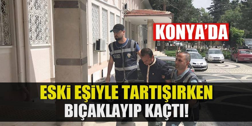 Konya'da bıçakla yaralama iddiası