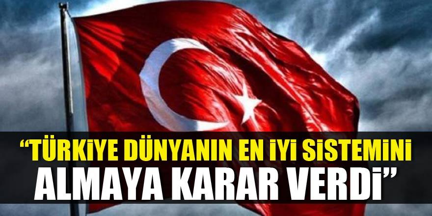 Putin açıkladı: Türkiye dünyanın en iyi sistemini almaya karar verdi