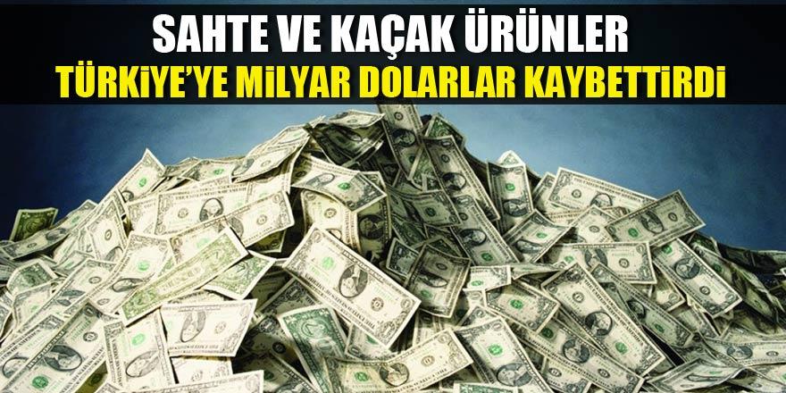 Sahte ve kaçak ürünler Türkiye'ye milyar dolarlar kaybettirdi