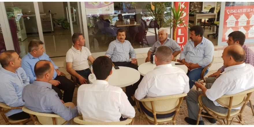 """Milletvekili adayı Çelik: """"Döşemealtı yeni yatırımlarla şahlanacak"""""""