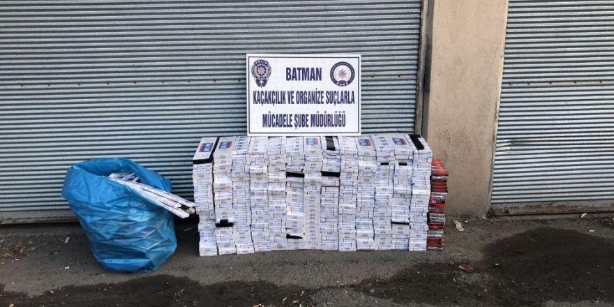 44 bin 250 paket kaçak sigara ele geçirildi