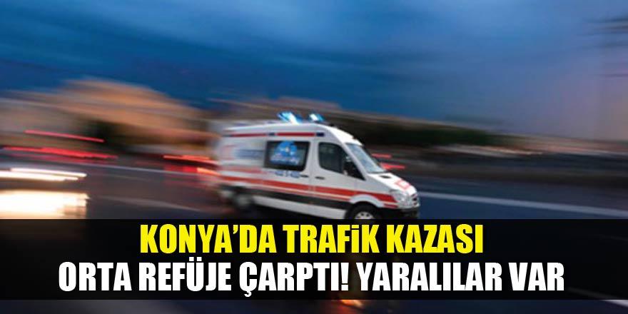 Akşehir'de trafik kazası