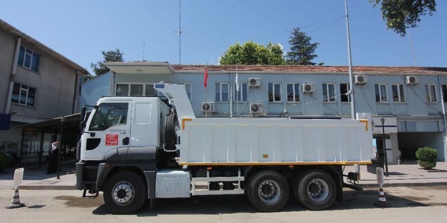 TBB'dan Osmancık Belediyesi'ne hibe kamyon
