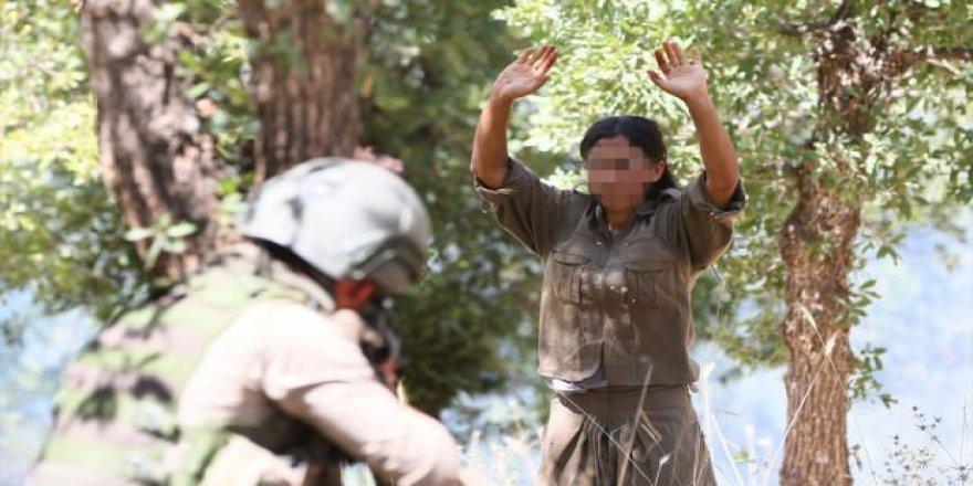 Kadın teröristler PKK'daki paniği anlattı!