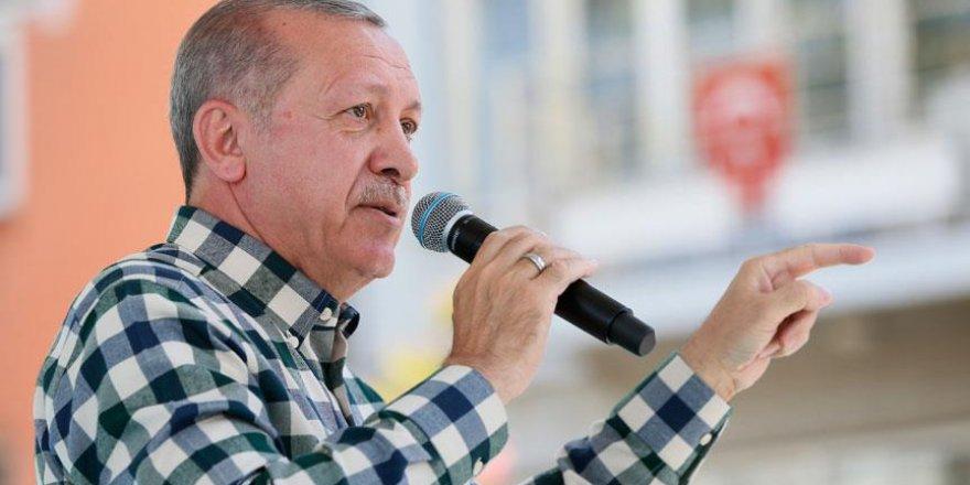 Erdoğan: Bunun adı teröre destek vermektir