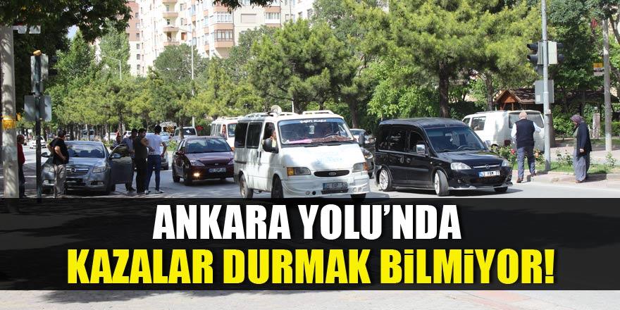 Ankara Yolu'nda kazalar durmak bilmiyor