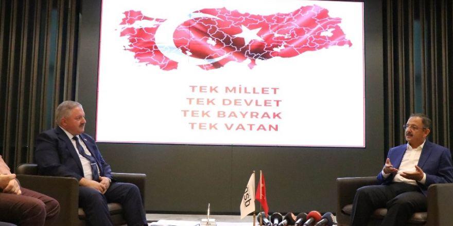 Bakan Özhaseki'den Kayseri OSB'ye ziyaret