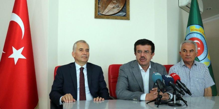 """Ekonomi Bakanı Zeybekci: """"Türk lirasının değeri ile ilgili süreci AK Parti'ye mal etmek isteyenler var"""""""