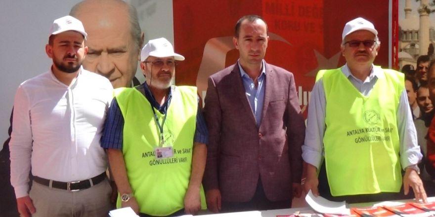 Konya'da Cumhur İttifakına destek açıklaması