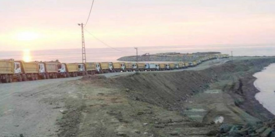120 kamyonla gece-gündüz taşıyor! Karadeniz'de neler oluyor