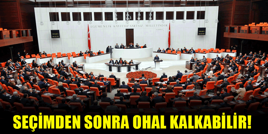 Erdoğan: Seçimden sonra OHAL kalkabilir!