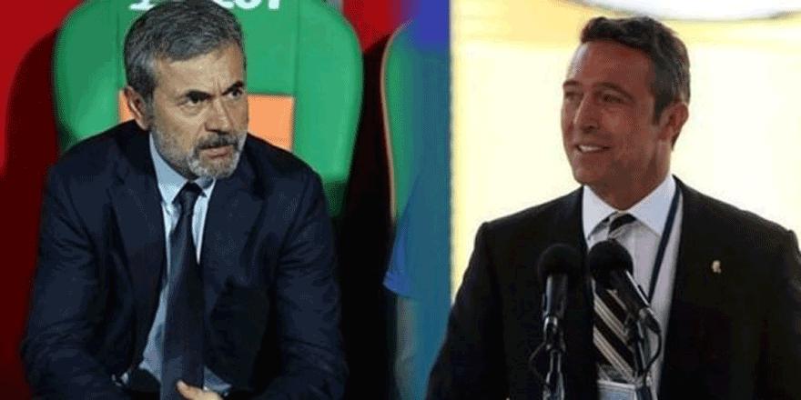 Aykut Kocaman Ali Koç ile görüştü! Rapor...
