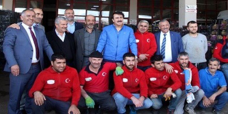 """Aydemir: """"Hedefimiz; Büyük Türkiye idealidir"""""""